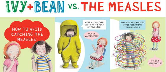 Ivy-Bean-Vs-measles